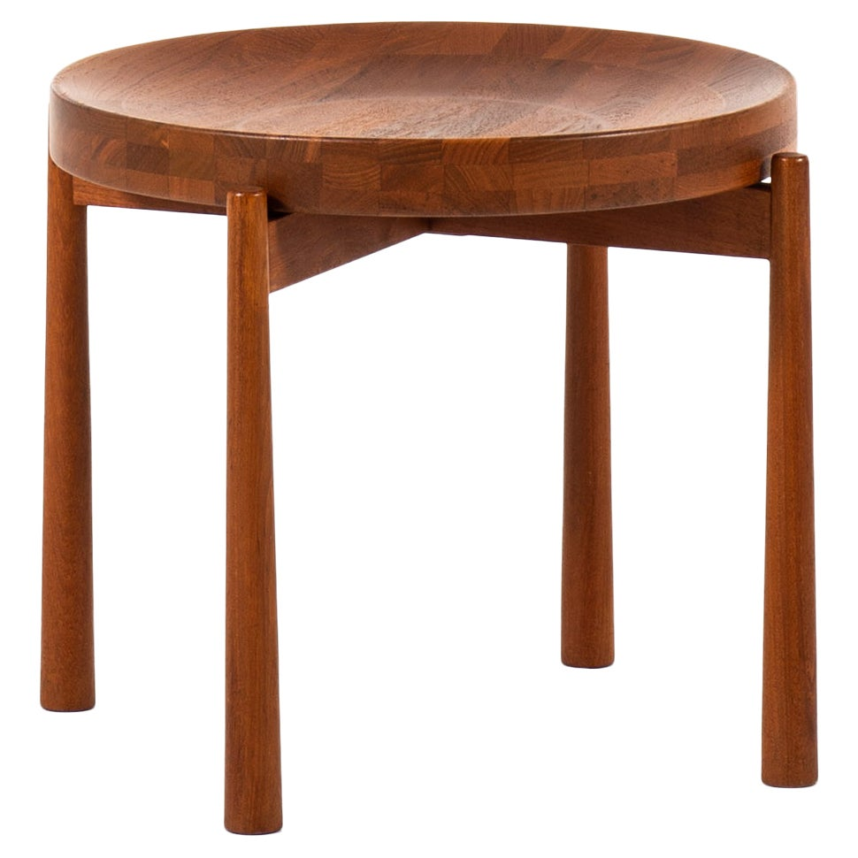 Jens Harald Quistgaard Attributed Side Table / Fruit Bowl by Nissen in Denmark