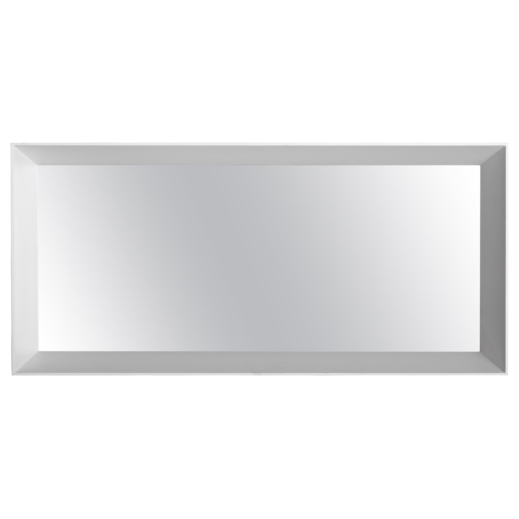 Molteni&C D.950.1E Small Framed Mirror in Toulipier Wood by Gio Ponti