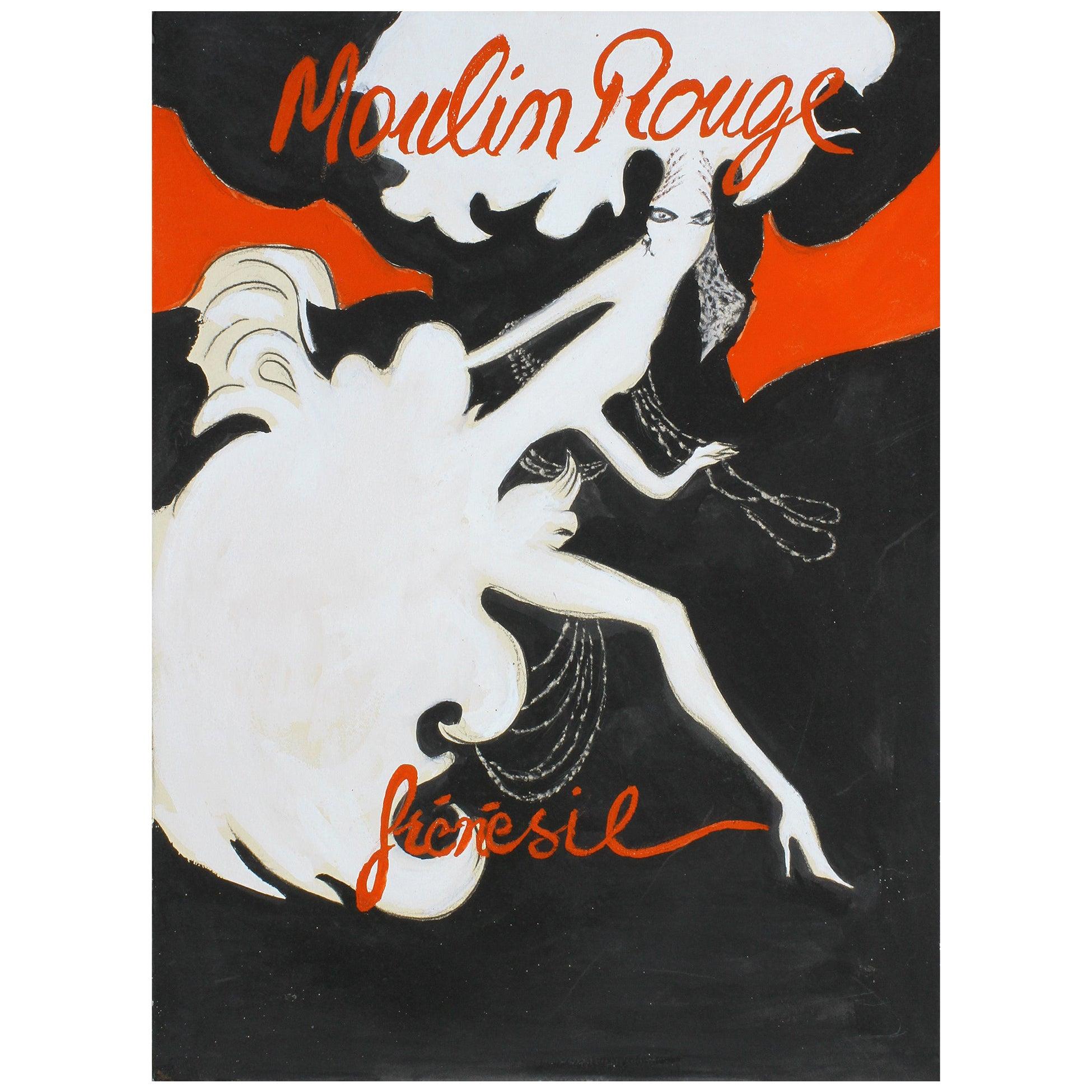 René Gruau, Sketch Bal du Moulin Rouge