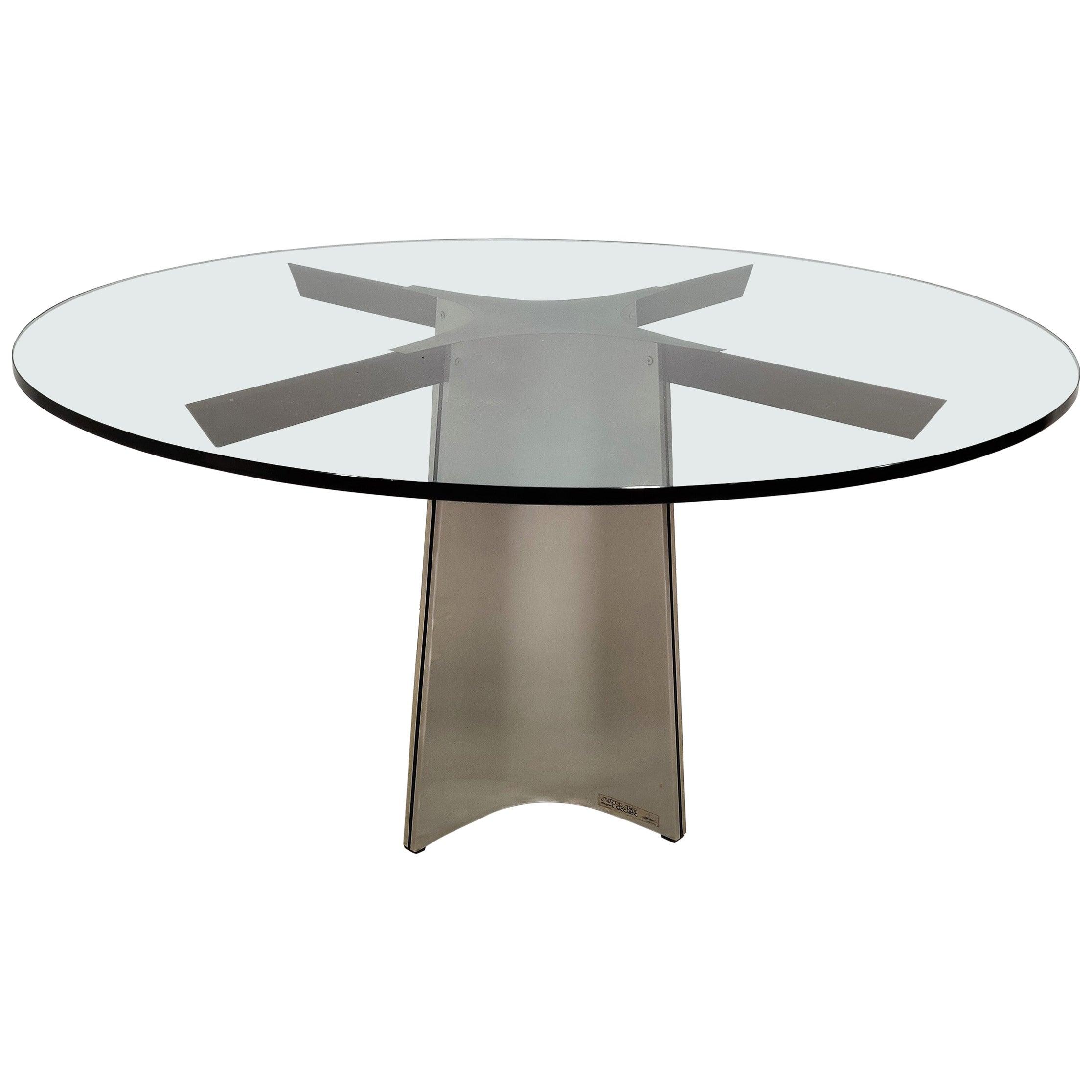 Luigi Saccardo Dining Table for Maison Jansen, 1970s