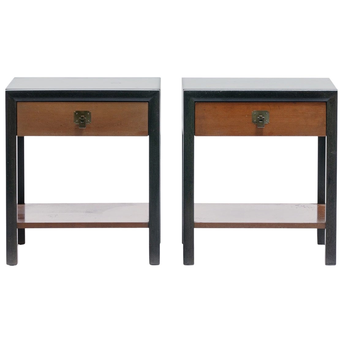 Pair of Bert England Night Stands / End Tables, circa 1950s