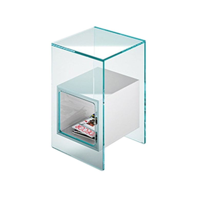 Fiam Magique MQ/32XG Coffee Table in Glass with Smoke Grey