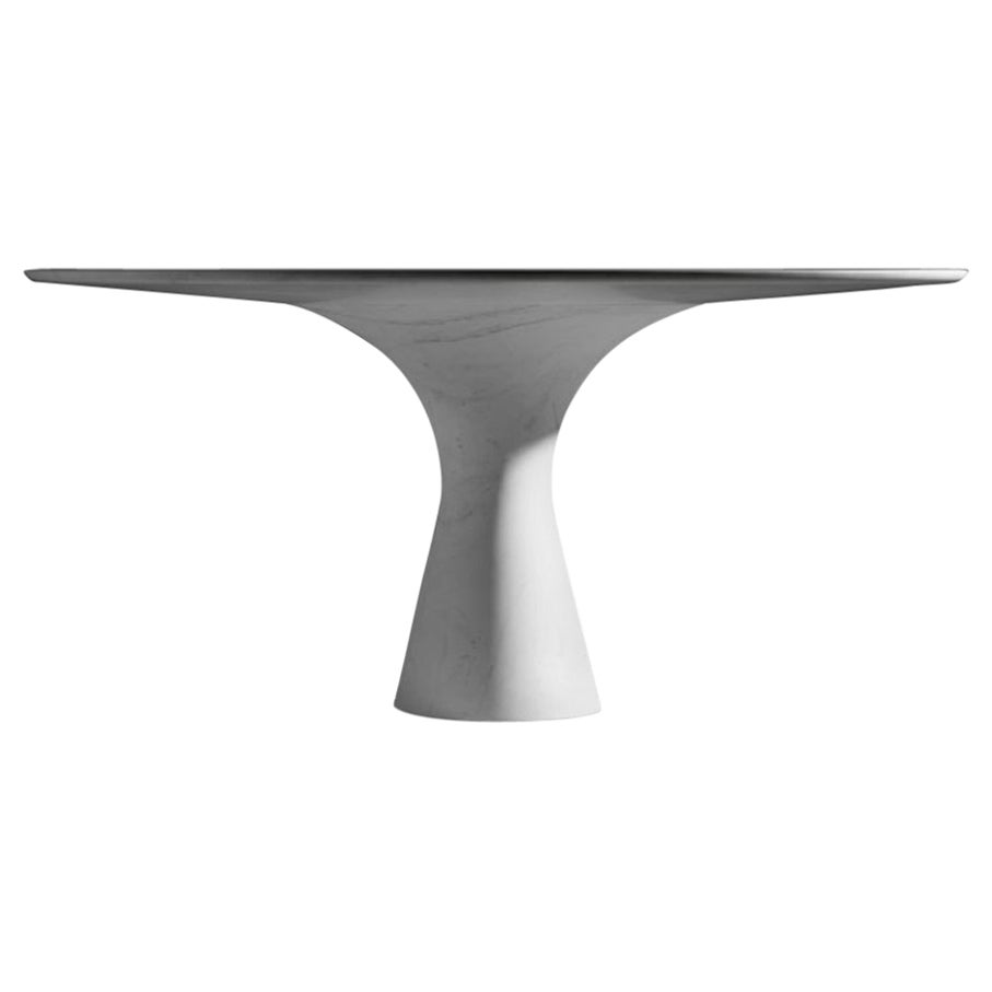 Refined Contemporary Marble Dining Table