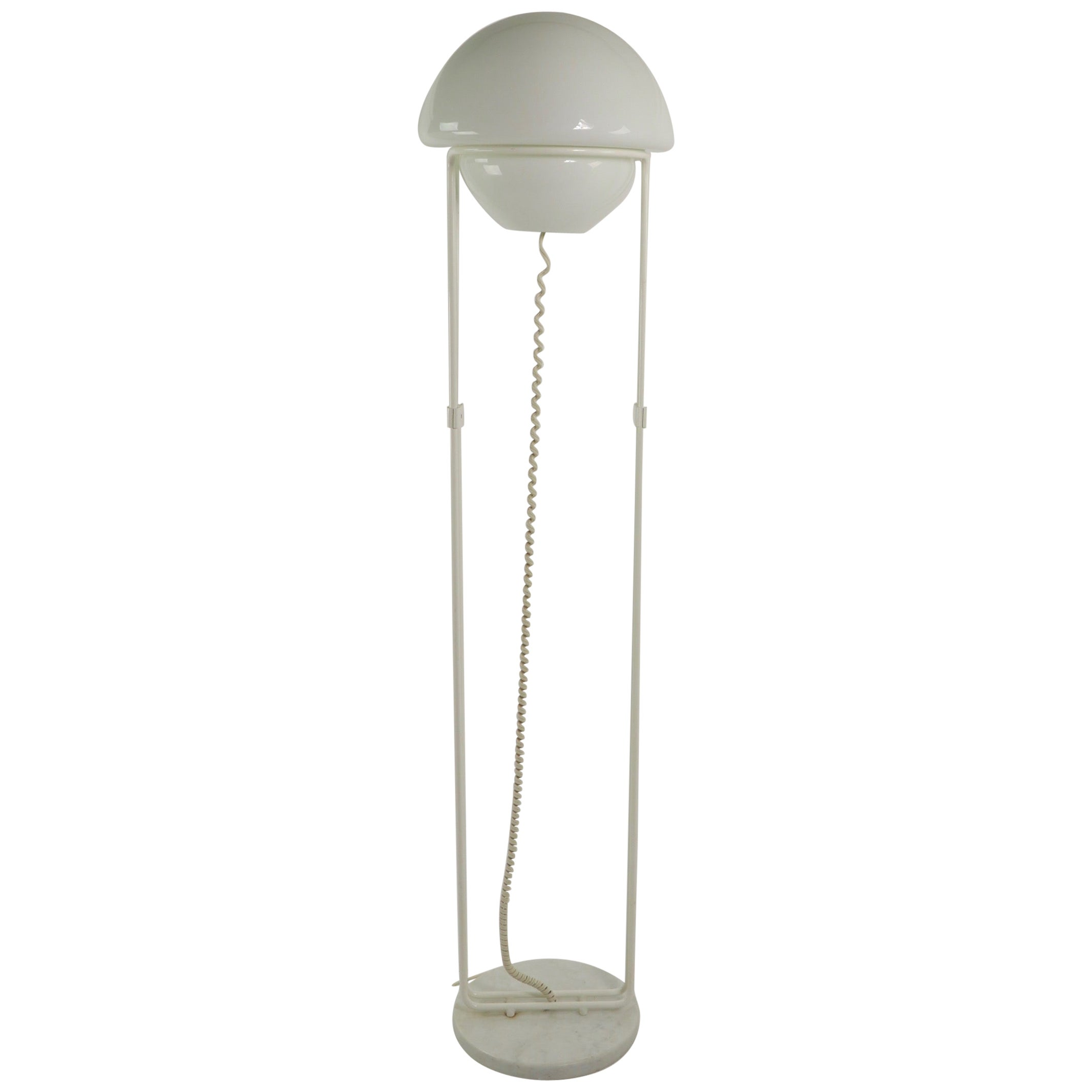 Italian Modernist Floor Lamp After Fabio Lenci for Guzzini