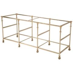 Kitchen Island Frame made from Stainless Steel and Bronze