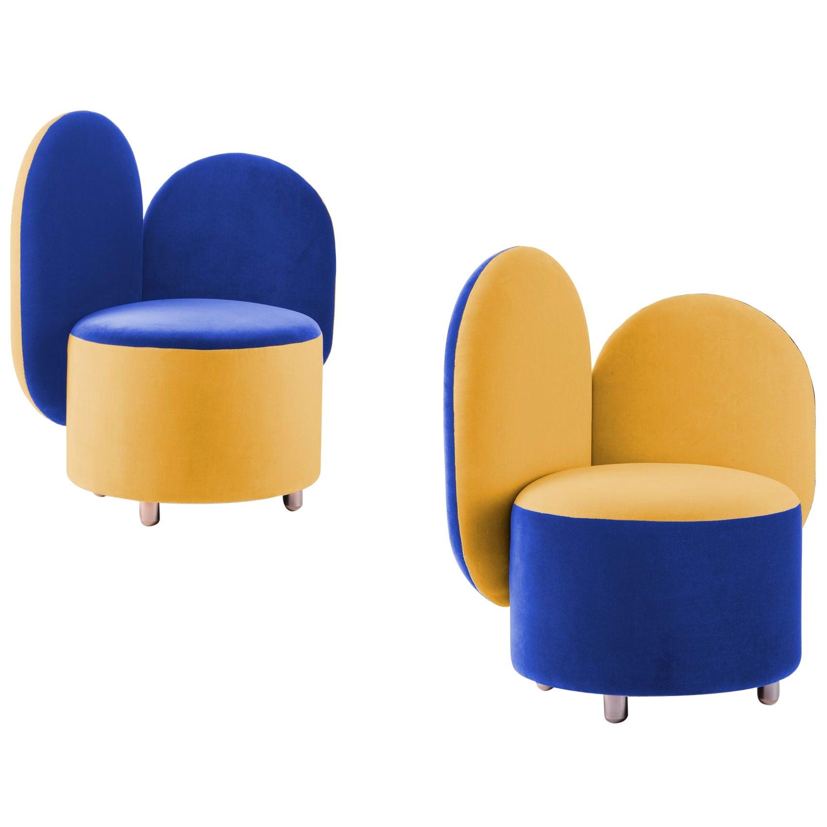 Pair of Half Half Designed by Thomas Dariel