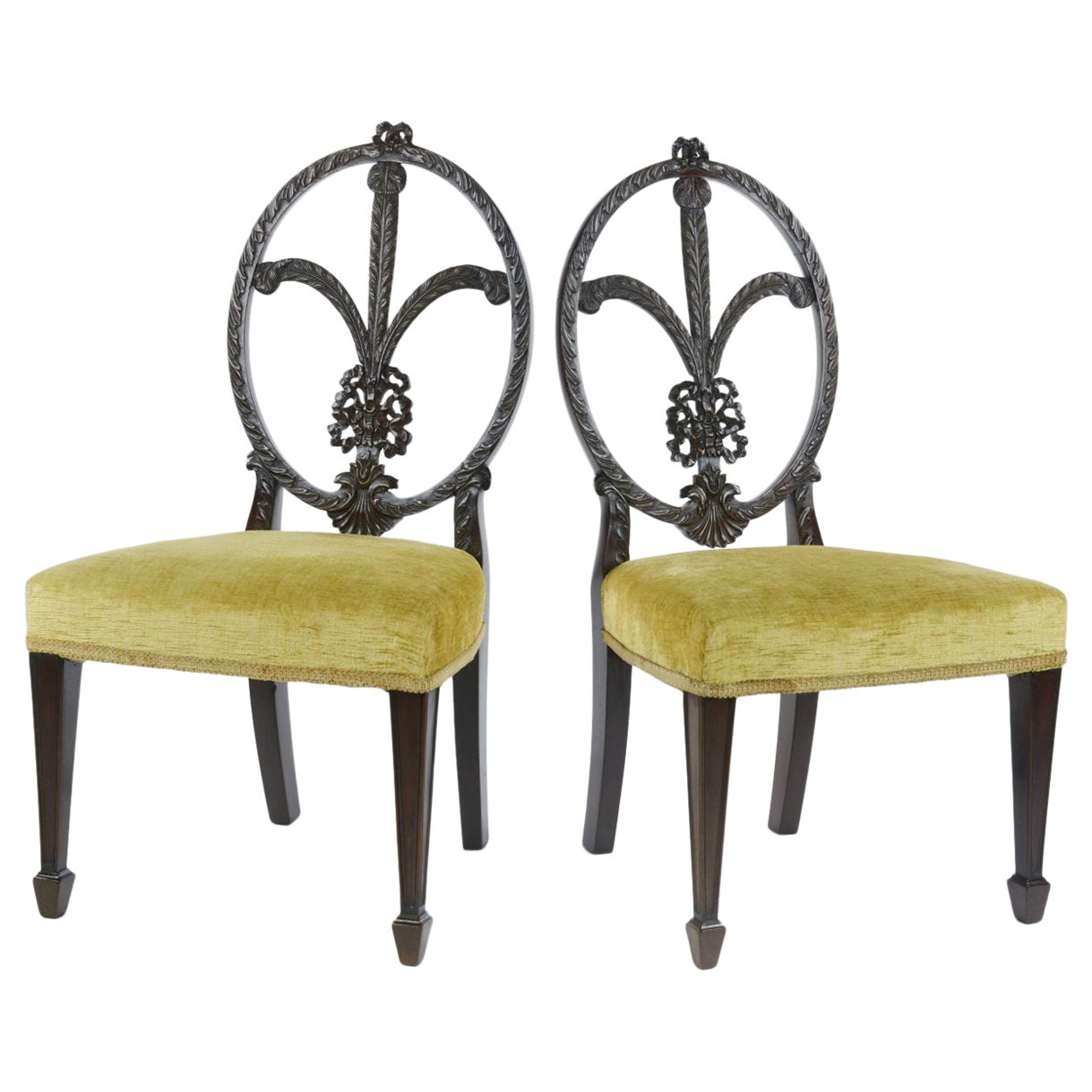 Pair of Sheraton Style Children's Chairs
