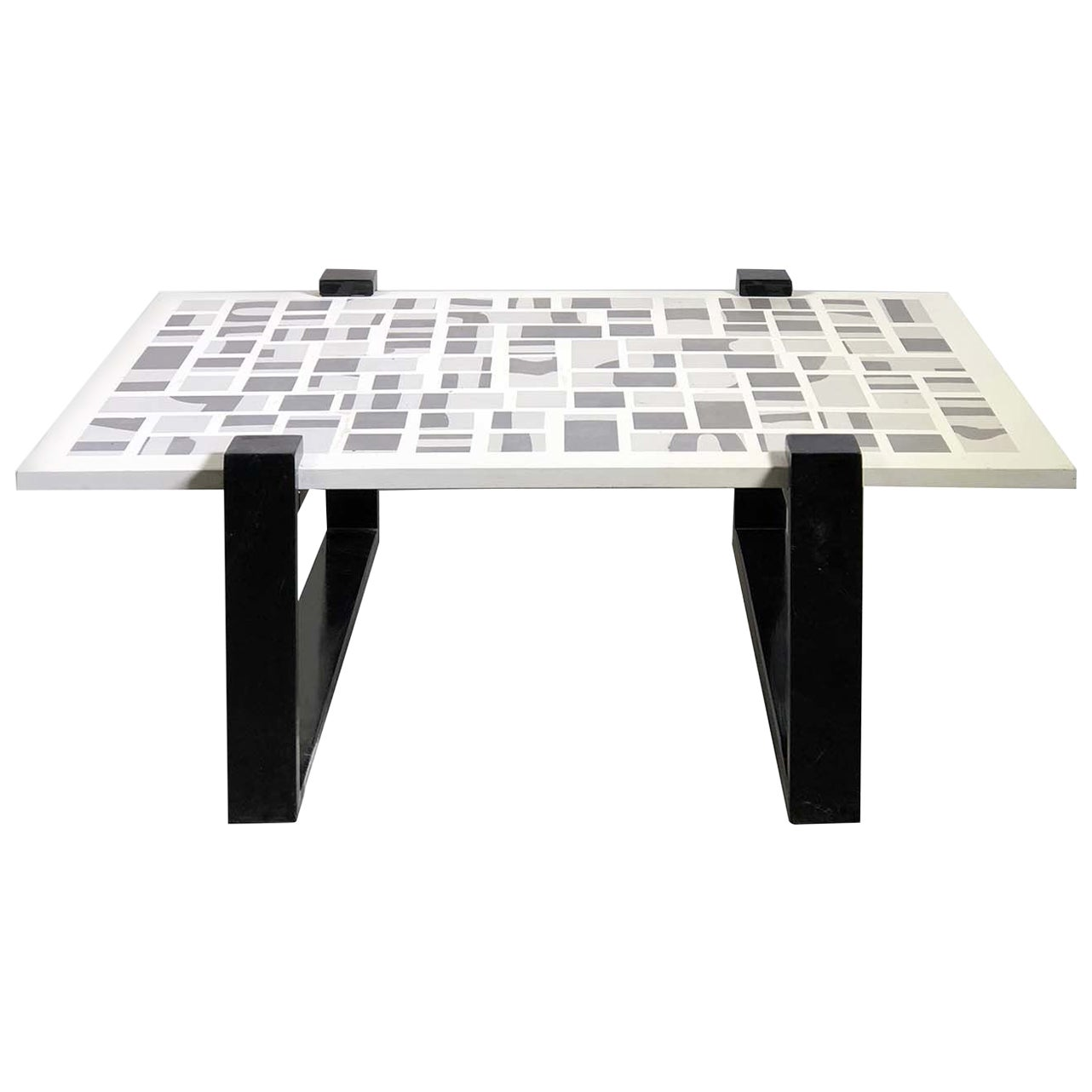 Qwerty Black Coffee Table
