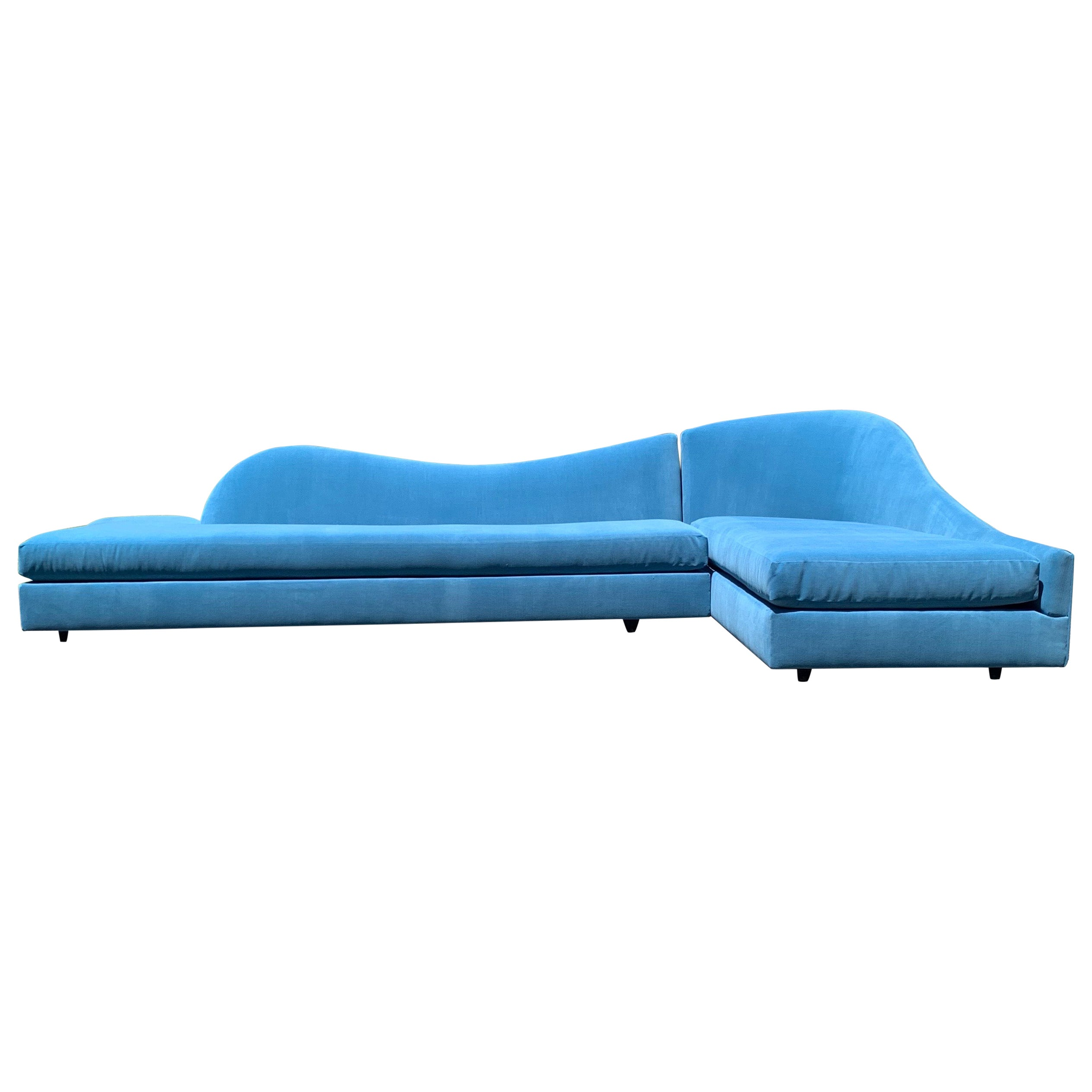 Adrian Pearsall for Craft Associates 2-Piece Sectional Cloud Sofa