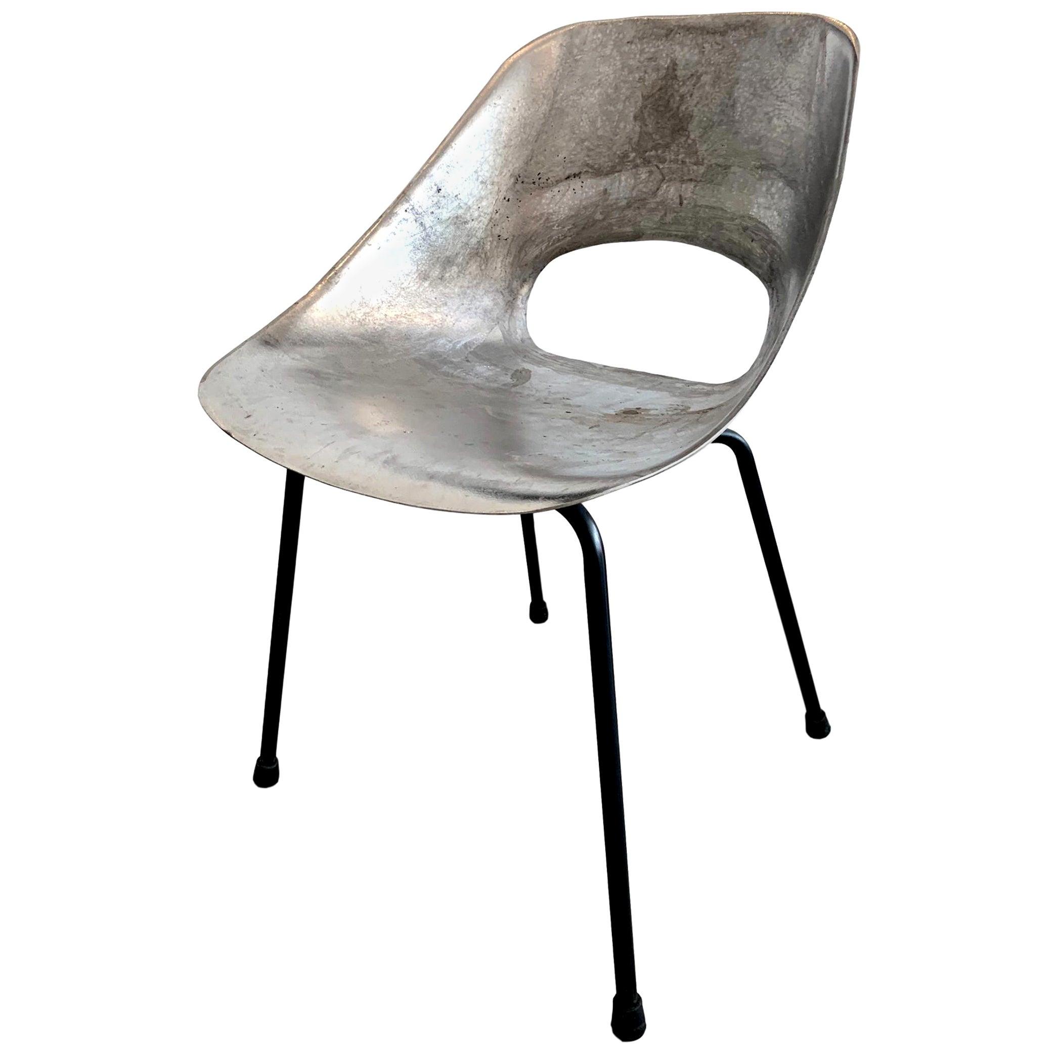 Cast Aluminum Chairs by Pierre Guariche