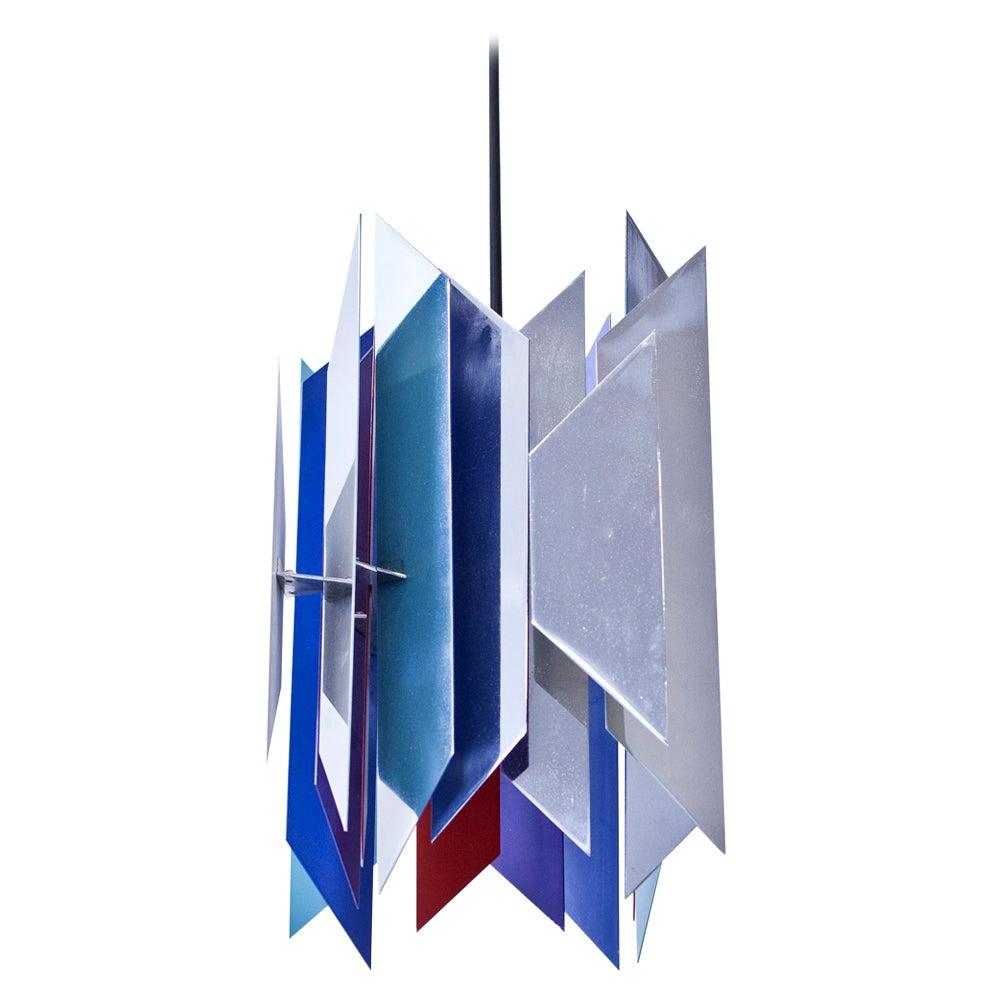 """""""Divan-2"""" Pendant Lamp by Simon P. Henningsen for Lyfa, Denmark, 1960s"""