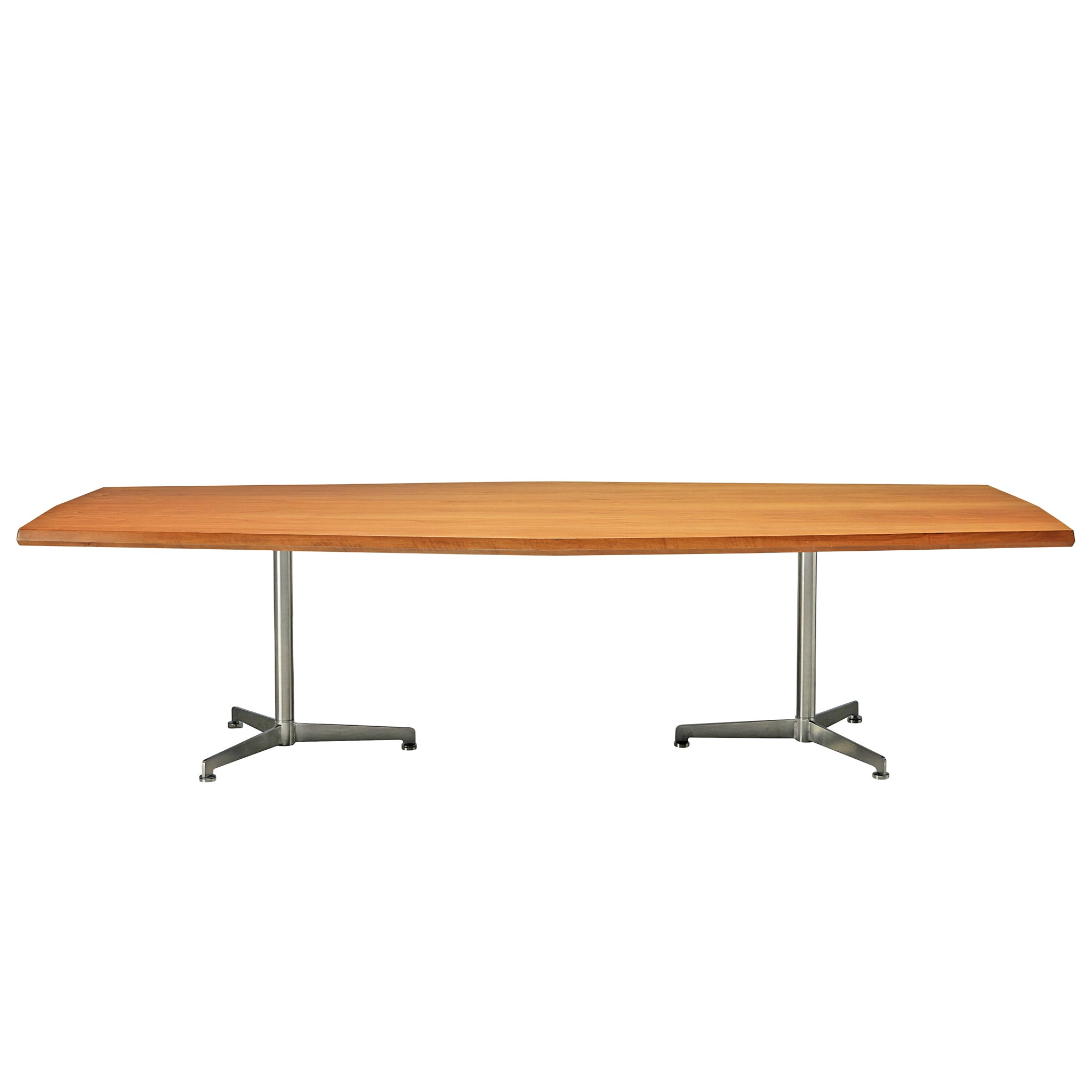 Osvaldo Borsani for Tecno, Writing Table in Mahogany