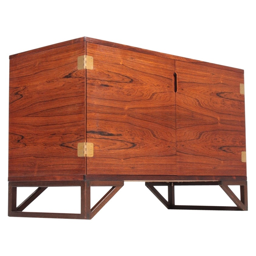 Midcentury Cabinet in Rosewood by Svend Langkilde, 1960s