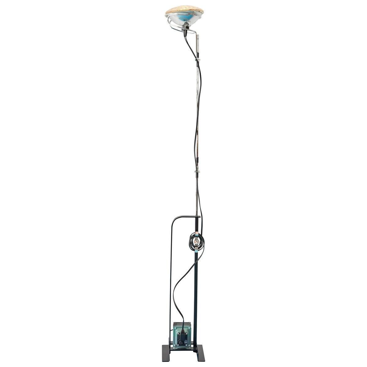 Comtemporary Flos Toio Steel Floor Lamp by Achille & Pier Giacomo Castiglioni