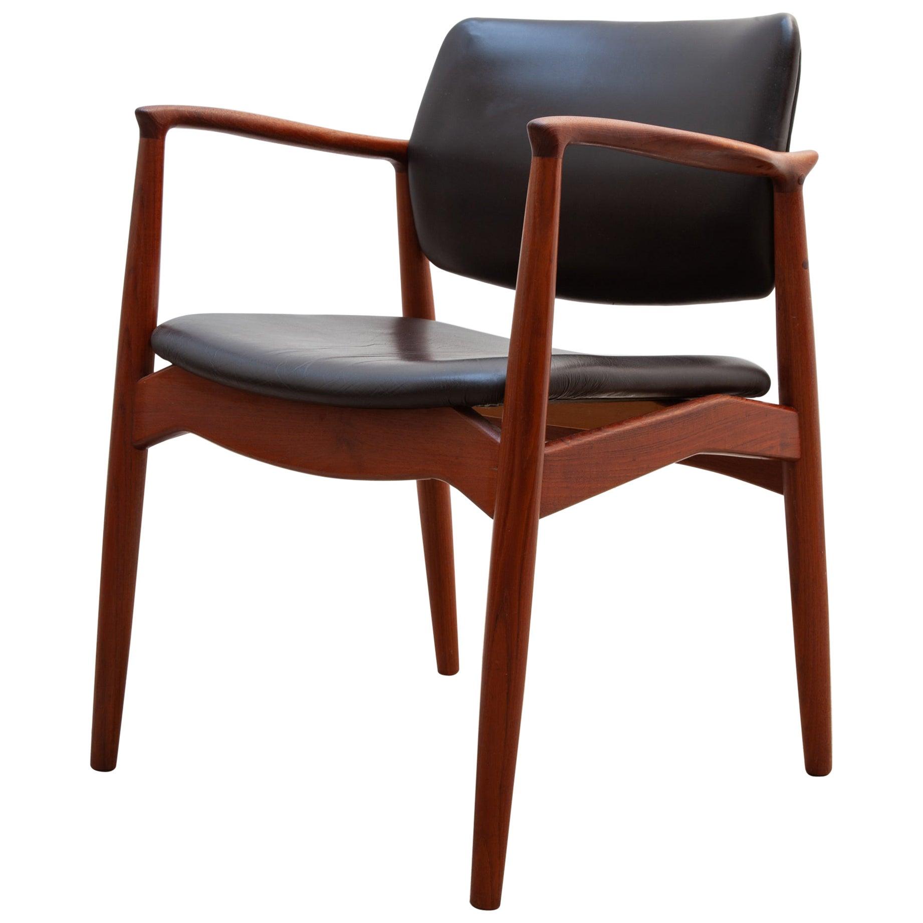 1950s Teak Side Chair by Arne Vodder for Sibast, Denmark