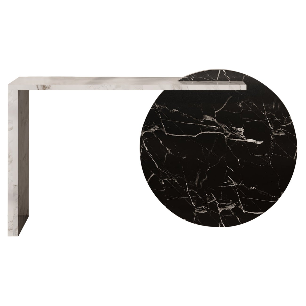 Contemporary Console Marble Table, by Chapter 101