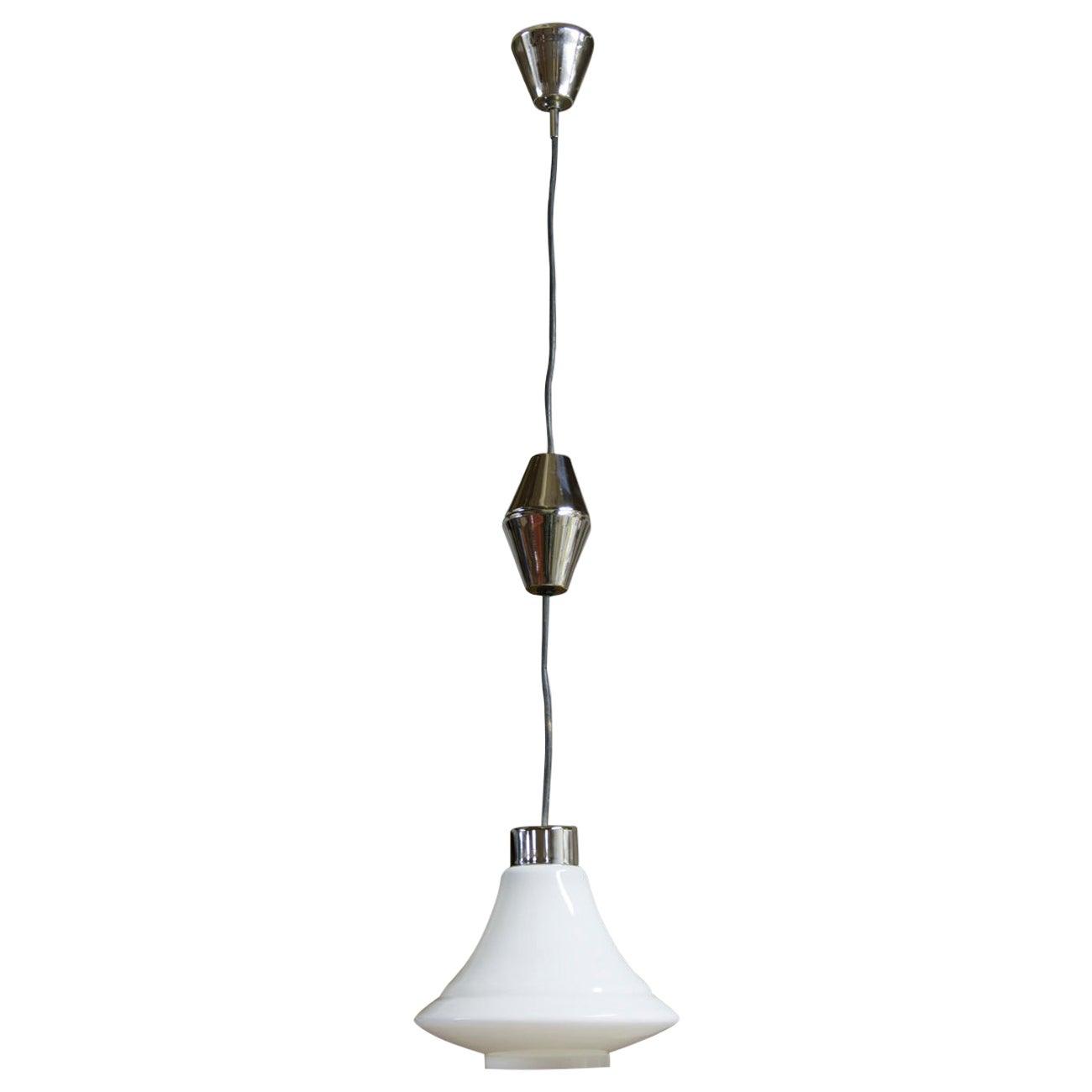 Czechoslovak Single Pendant Lamp, 1970s