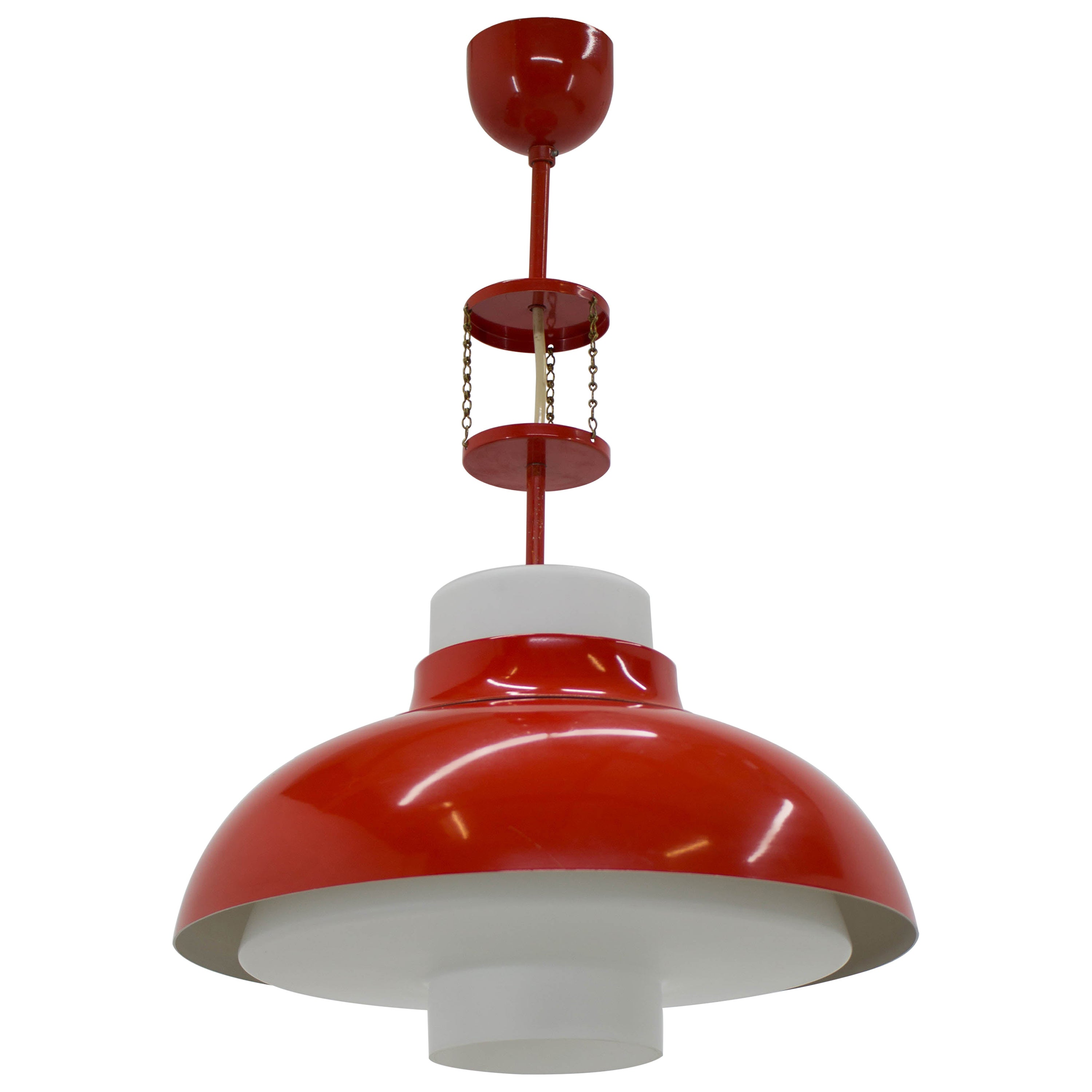 Midcentury Chandelier by Napako, 1970s