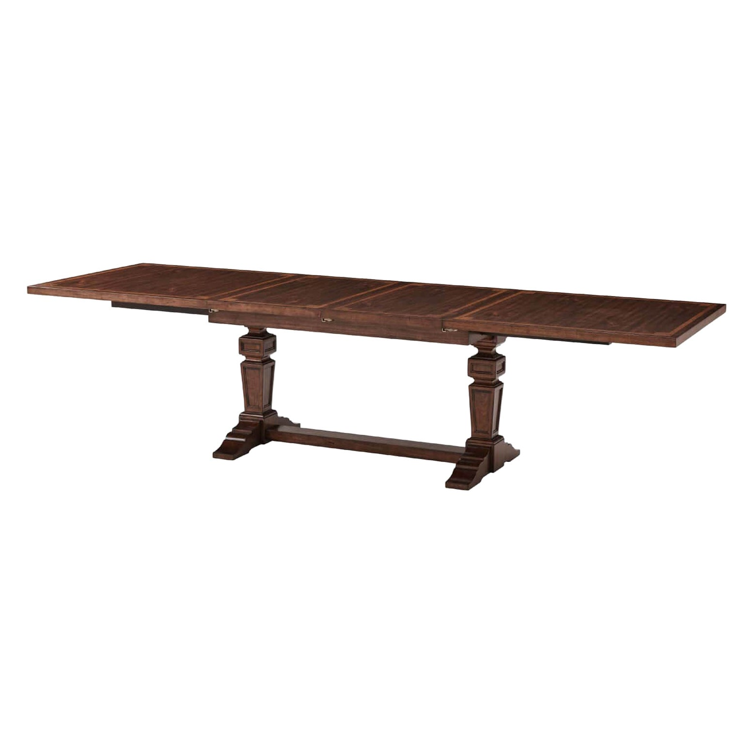 Provincial Neoclassic Extension Dining Table