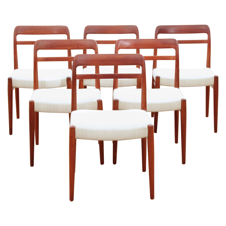 Mid-Century Modern Danish Dining Chairs in Teak