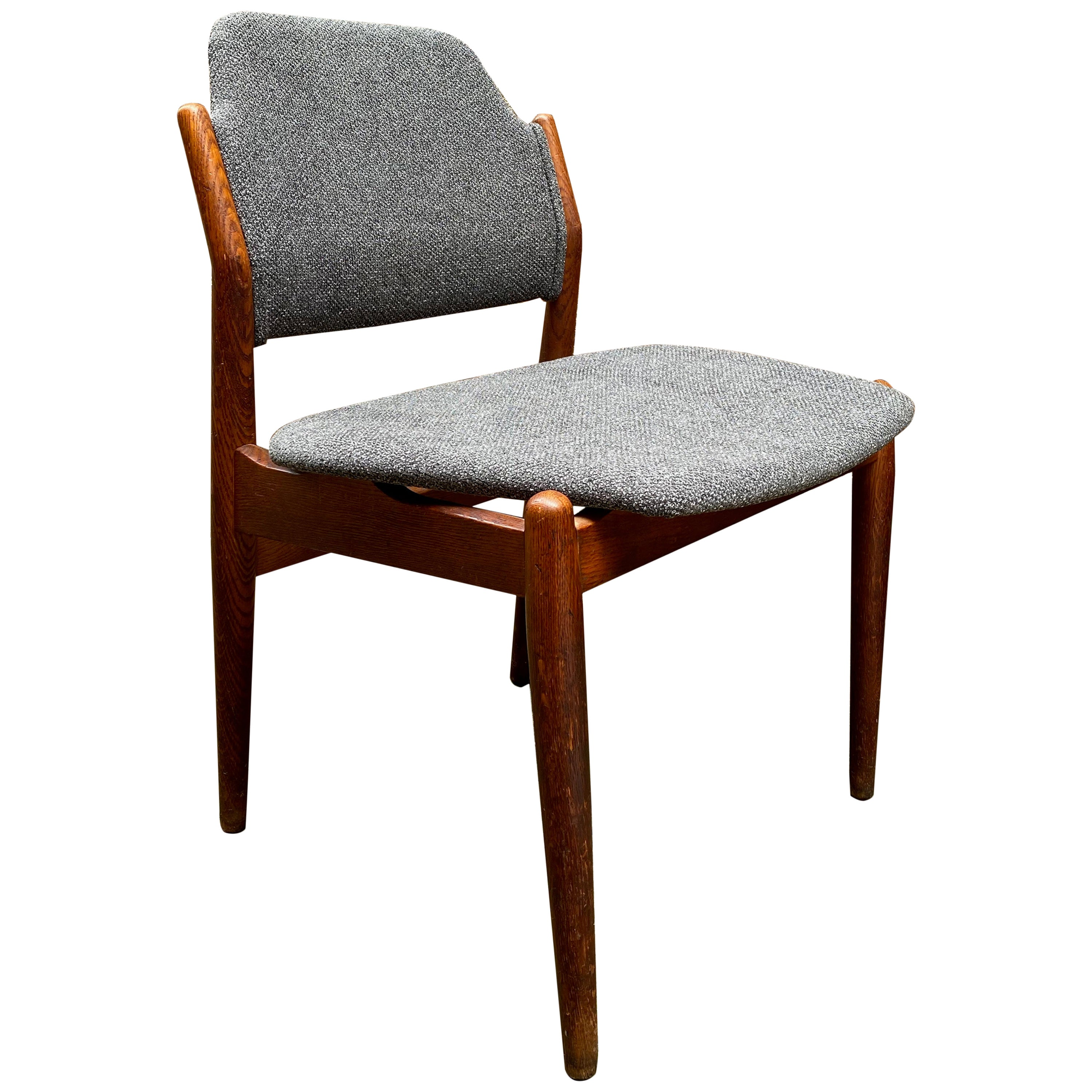 Arne Vodder Sibast Møbler Model 62 Oak Side Chair