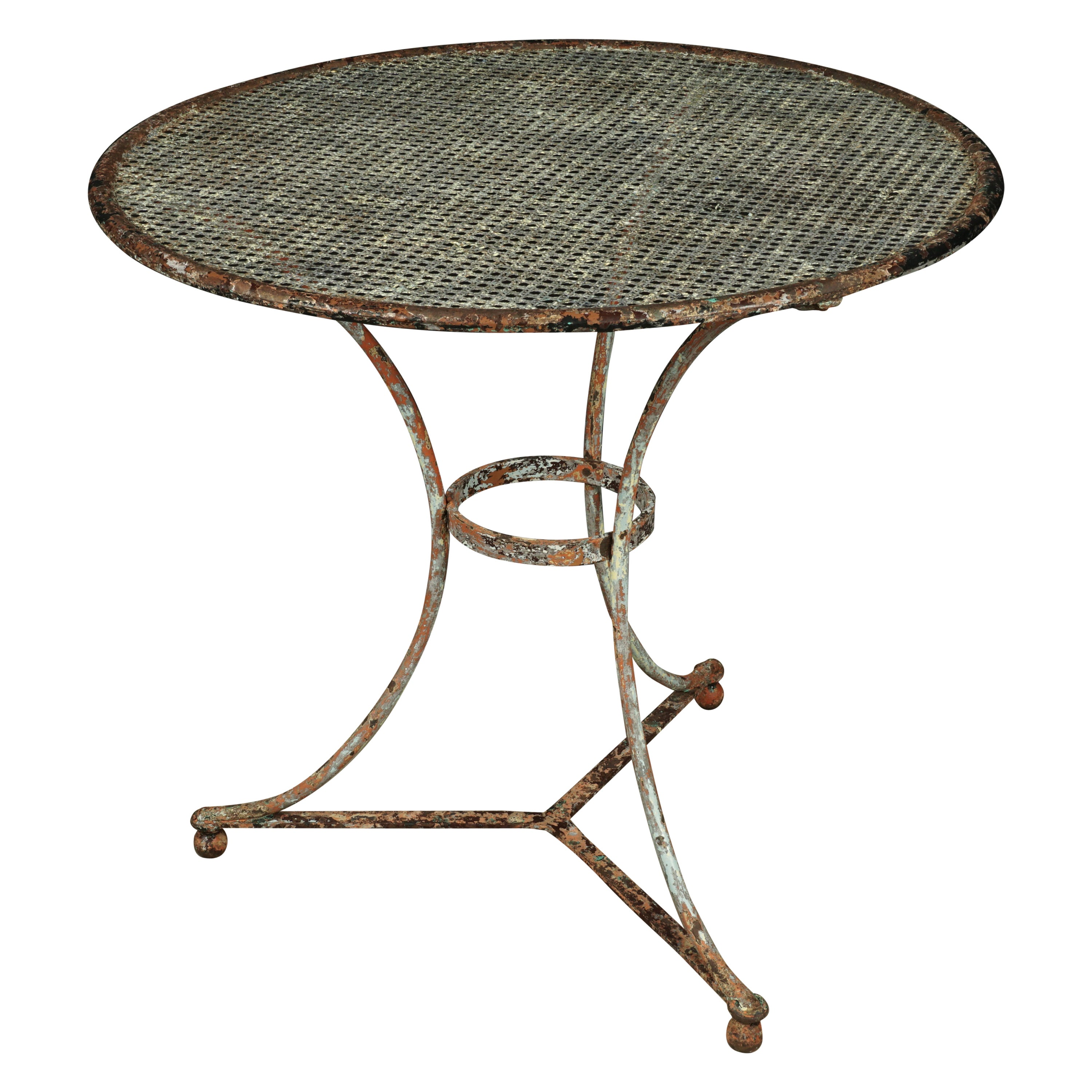 Vintage Bistro Table from France, 1950s