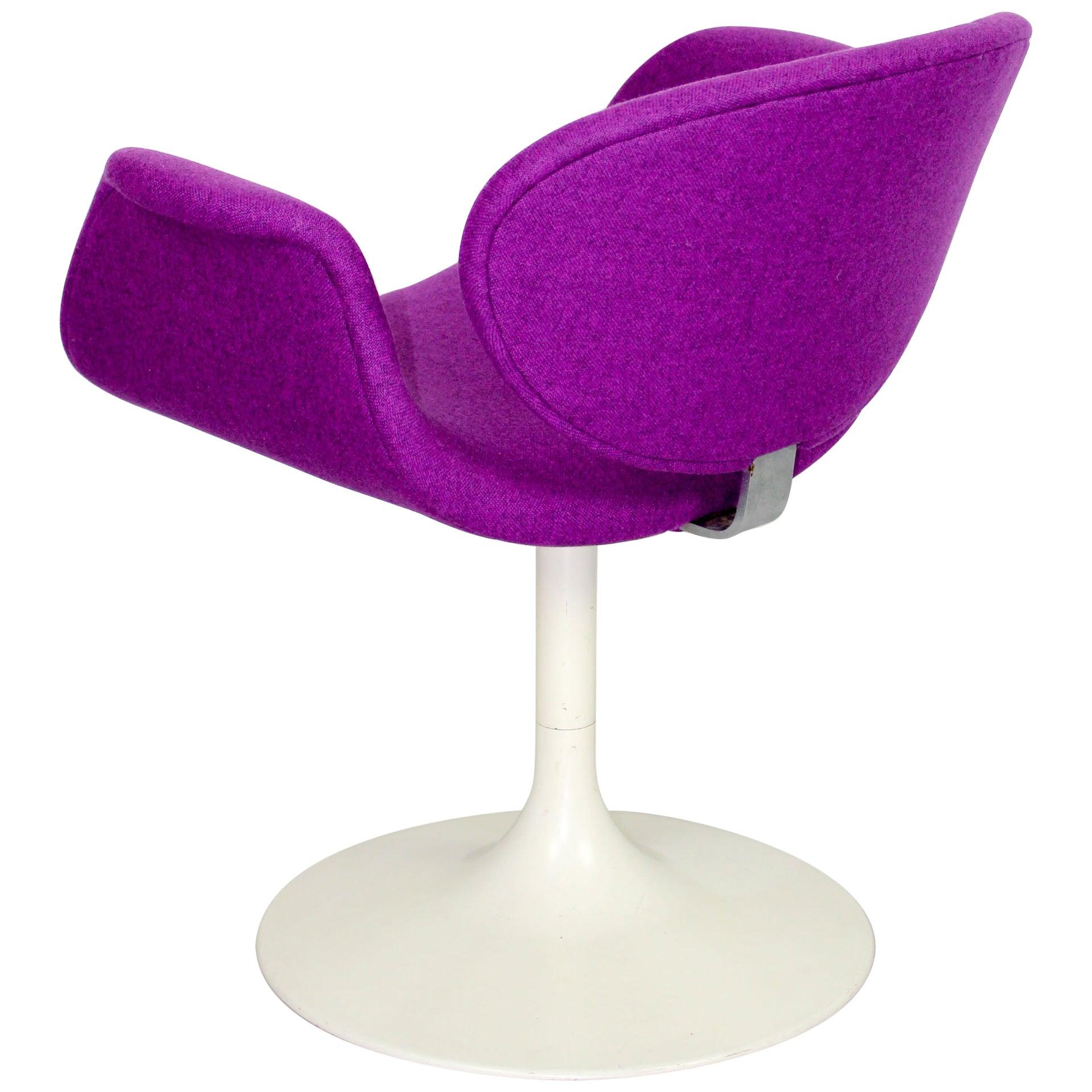 Early Pierre Paulin Little Tulip Chair for Artifort in Kvadrat Divina