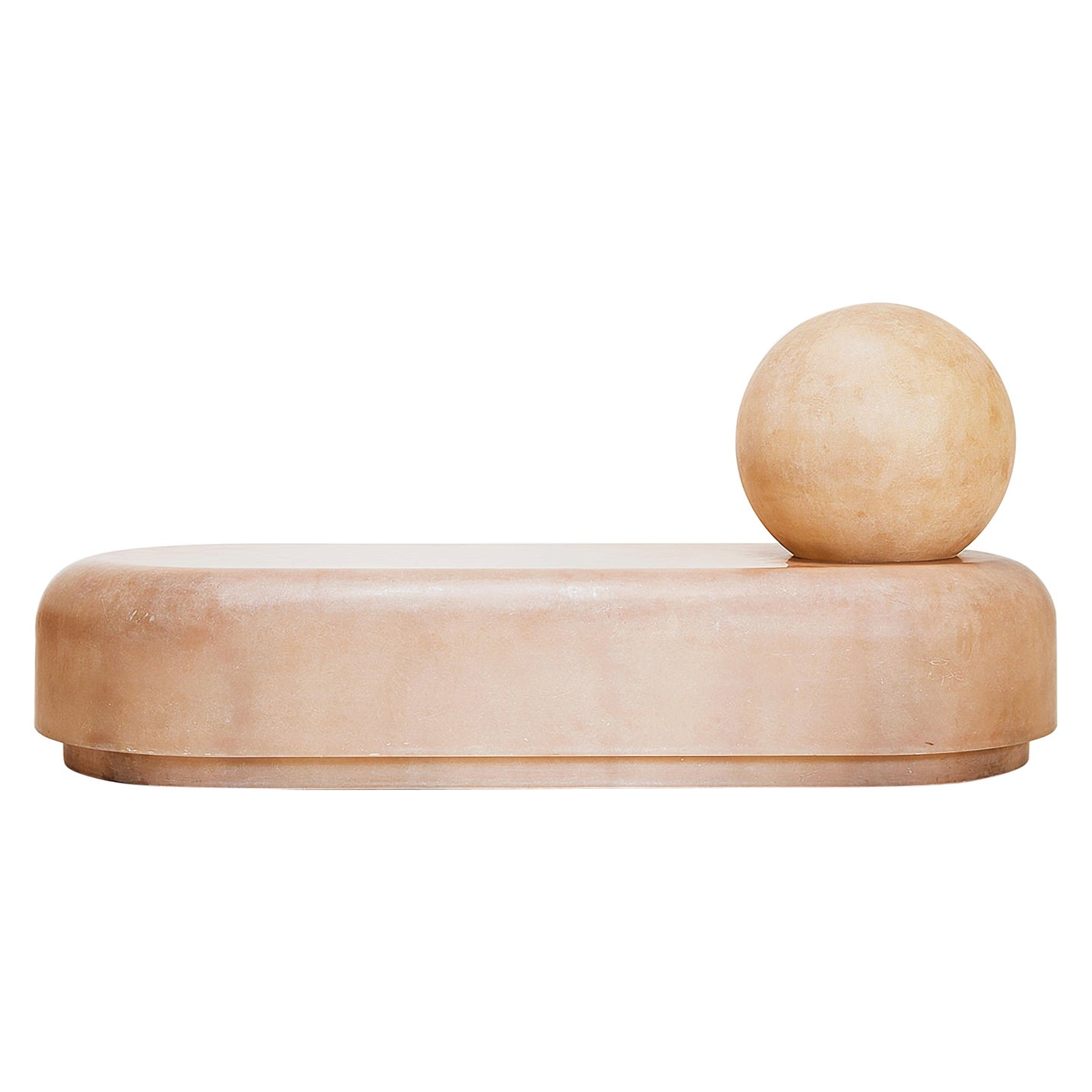 Faye Toogood, Roly-Poly Daybed Raw, Fiberglass, London, 2018