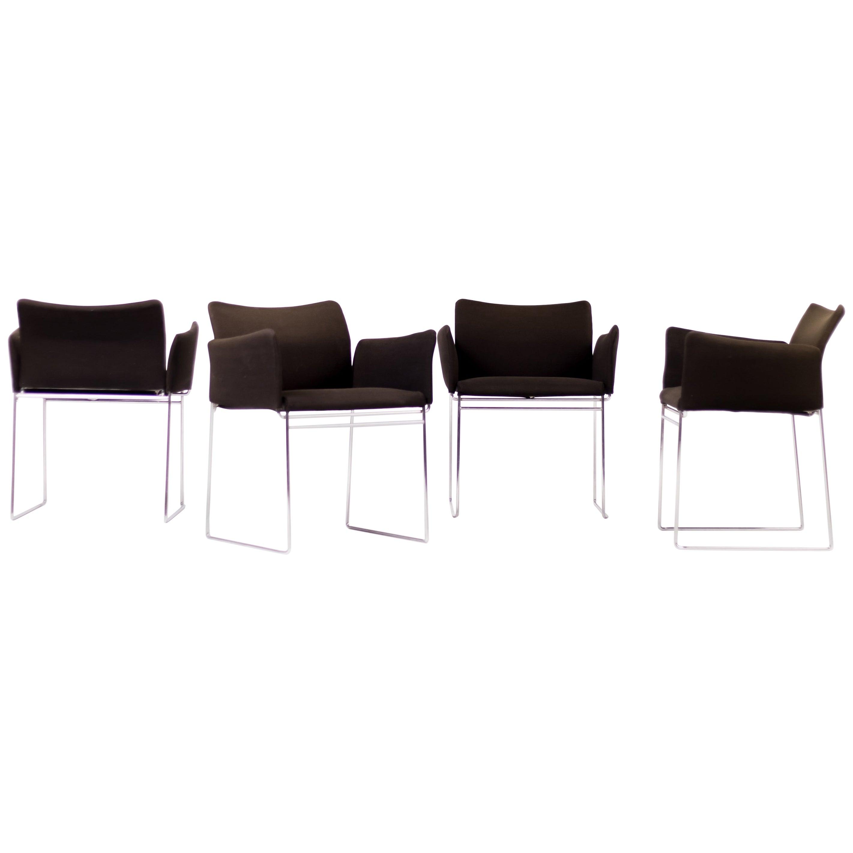 "Set of Four ""Maja"" Chairs by Kazuhide Takahama for Simon Gavina"