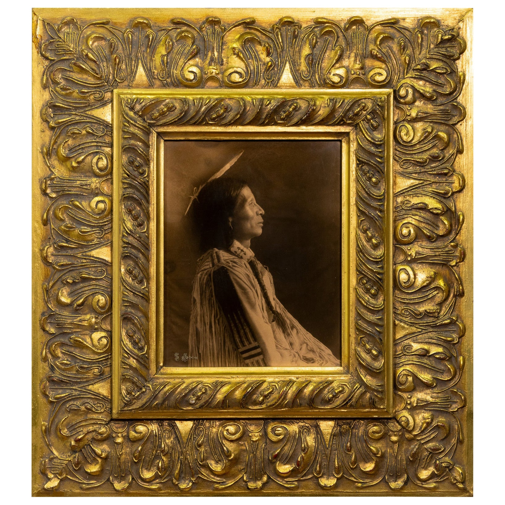 """Juan Concho"" Gold Tone by Carl Moon"