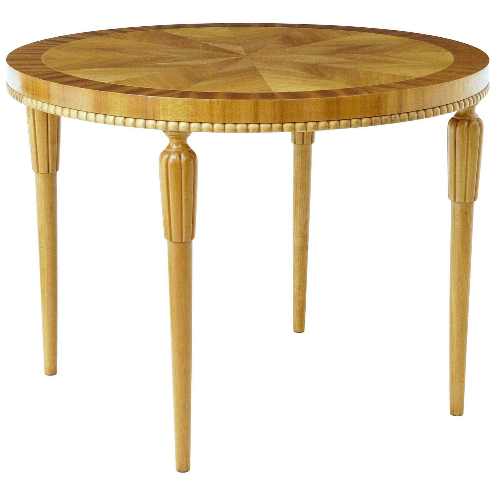 20th Century Art Deco Birch Coffee Table