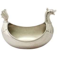 Antique Edwardian Sterling Silver Centrepiece Bowl