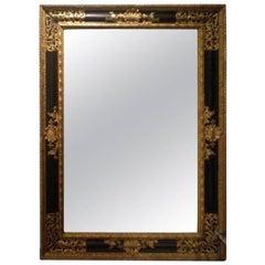 19th Century Dutch Ebonized Mirror