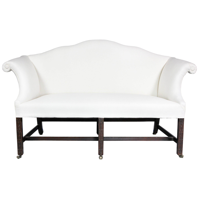 George III Mahogany Sofa