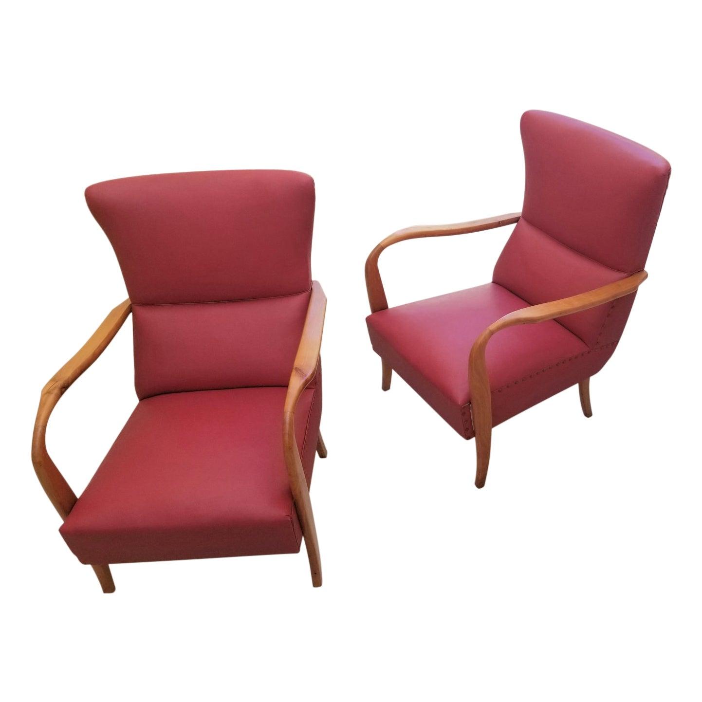 Italian Pair of Chairs
