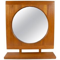 Danish Pedersen & Hanson Mid-Century Modern Teak Mirror