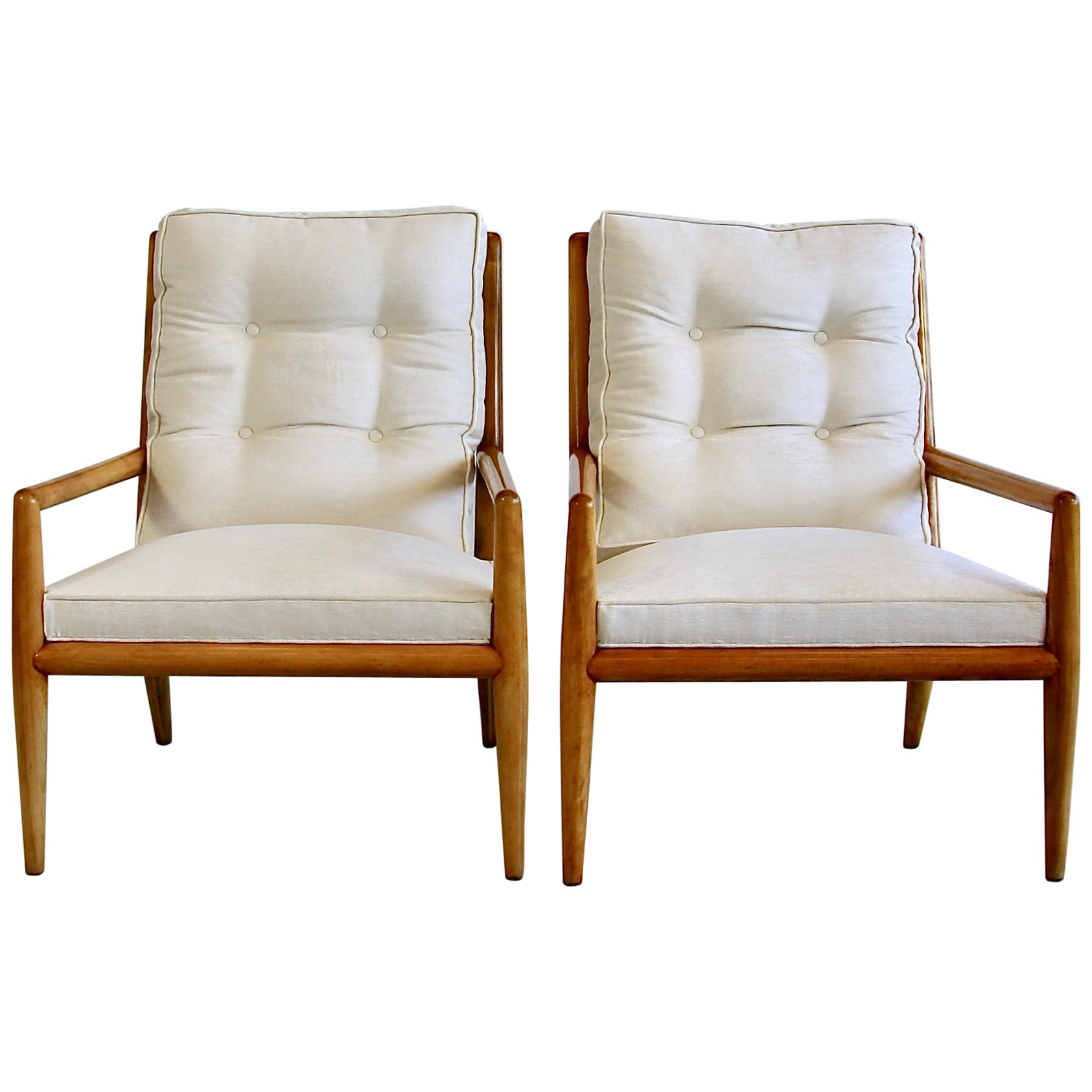 Pair of Armchairs by T.H. Robsjohn-Gibbons, 1950s
