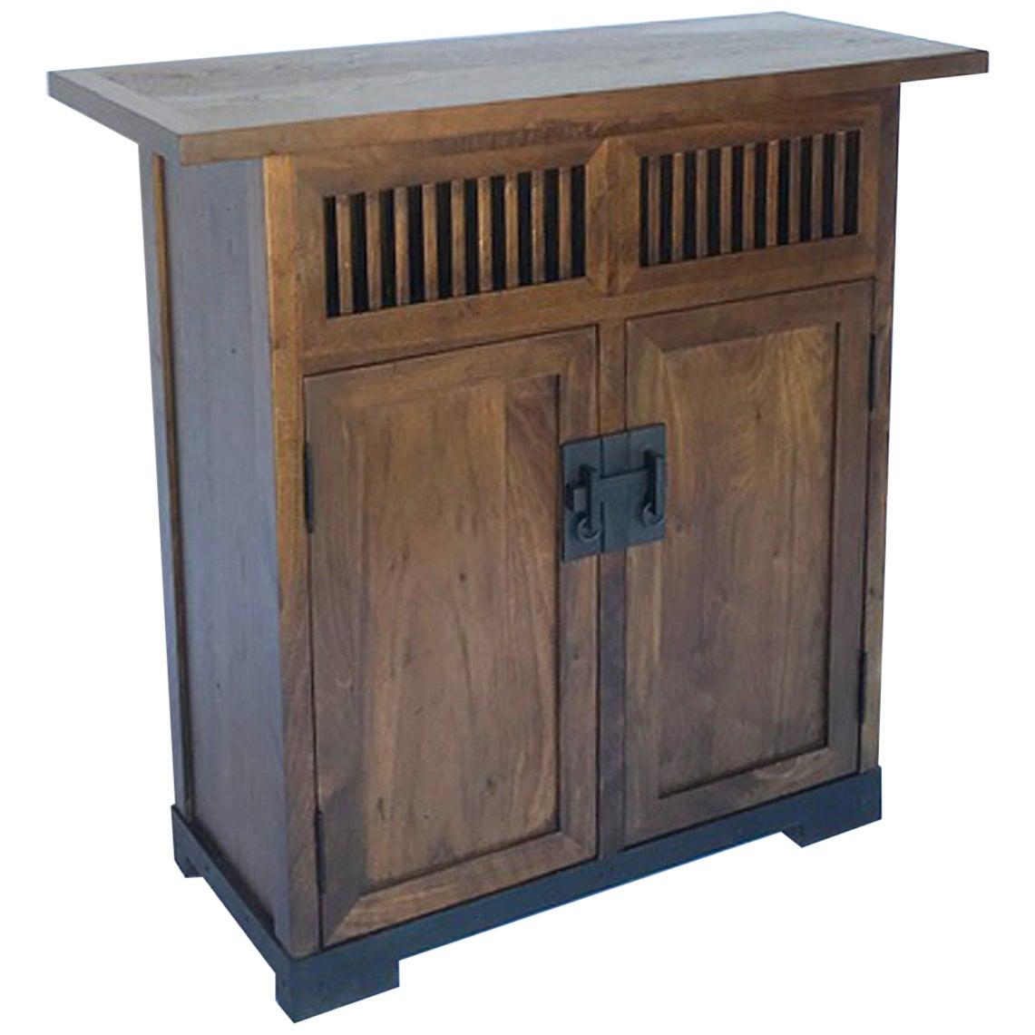 Custom Japanese Style Cabinet