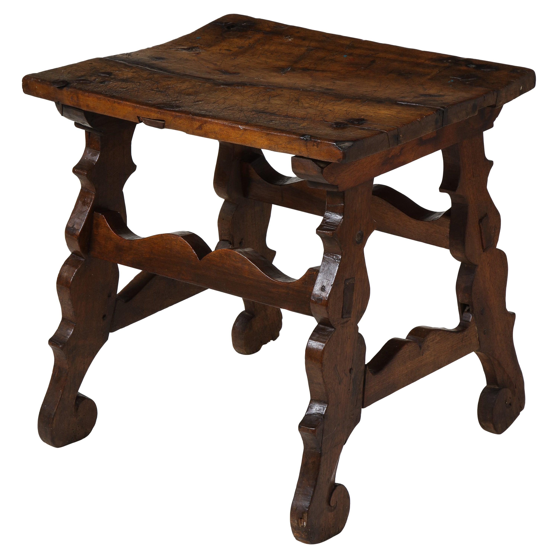 17th Century Walnut Trestle Table