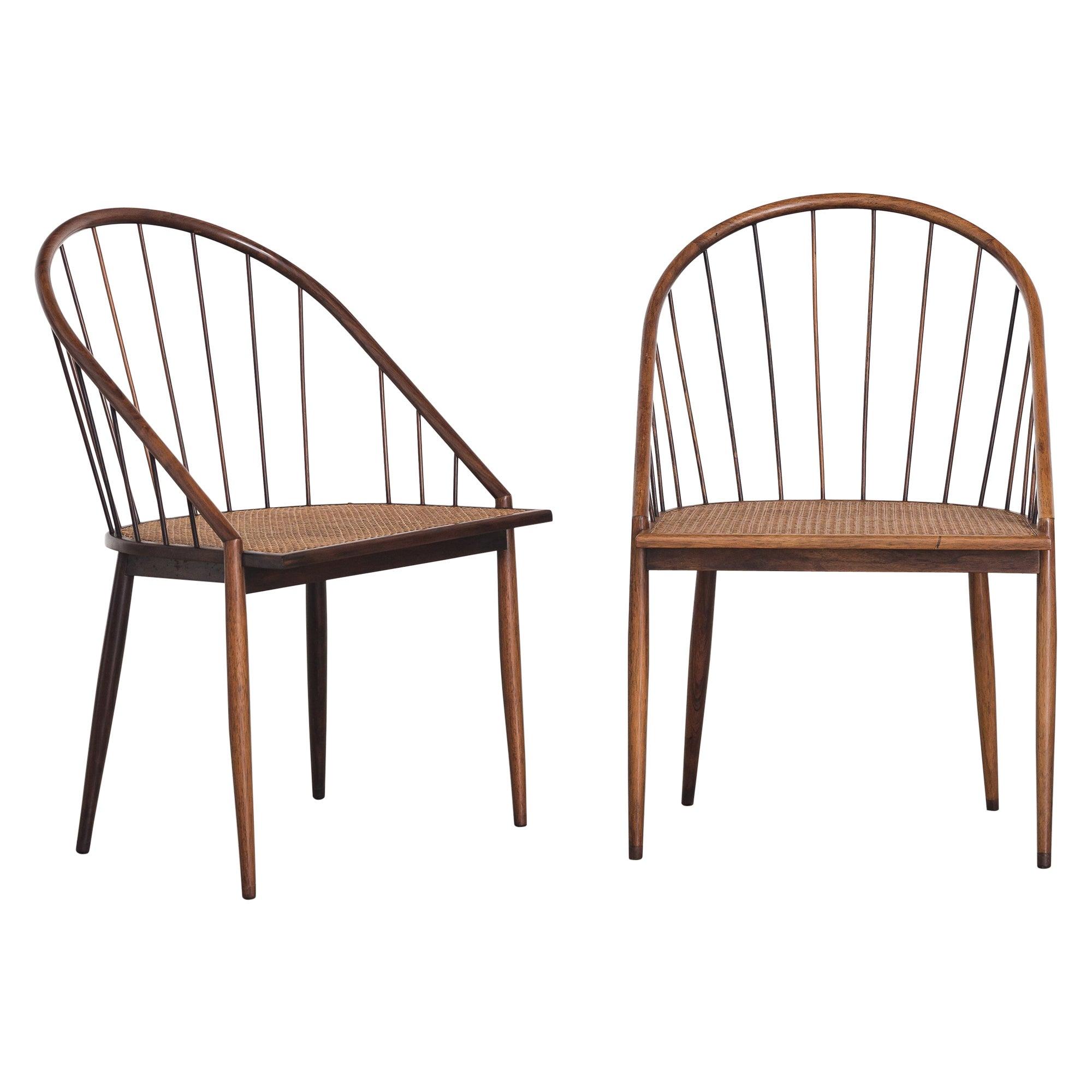 Curva Chair by Joaquim Tenreiro, 1960s, Brazilian Midcentury Design