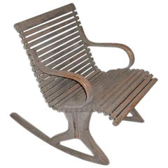 19th Century Bentwood Rocker
