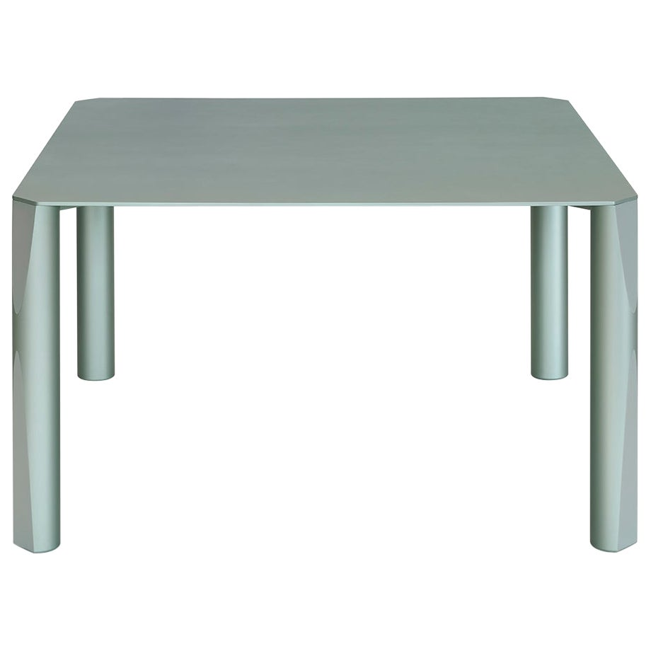 """21st Century """"VERSO"""" by Maddalena Casadei Symposia Collection, Sage Green Table"""