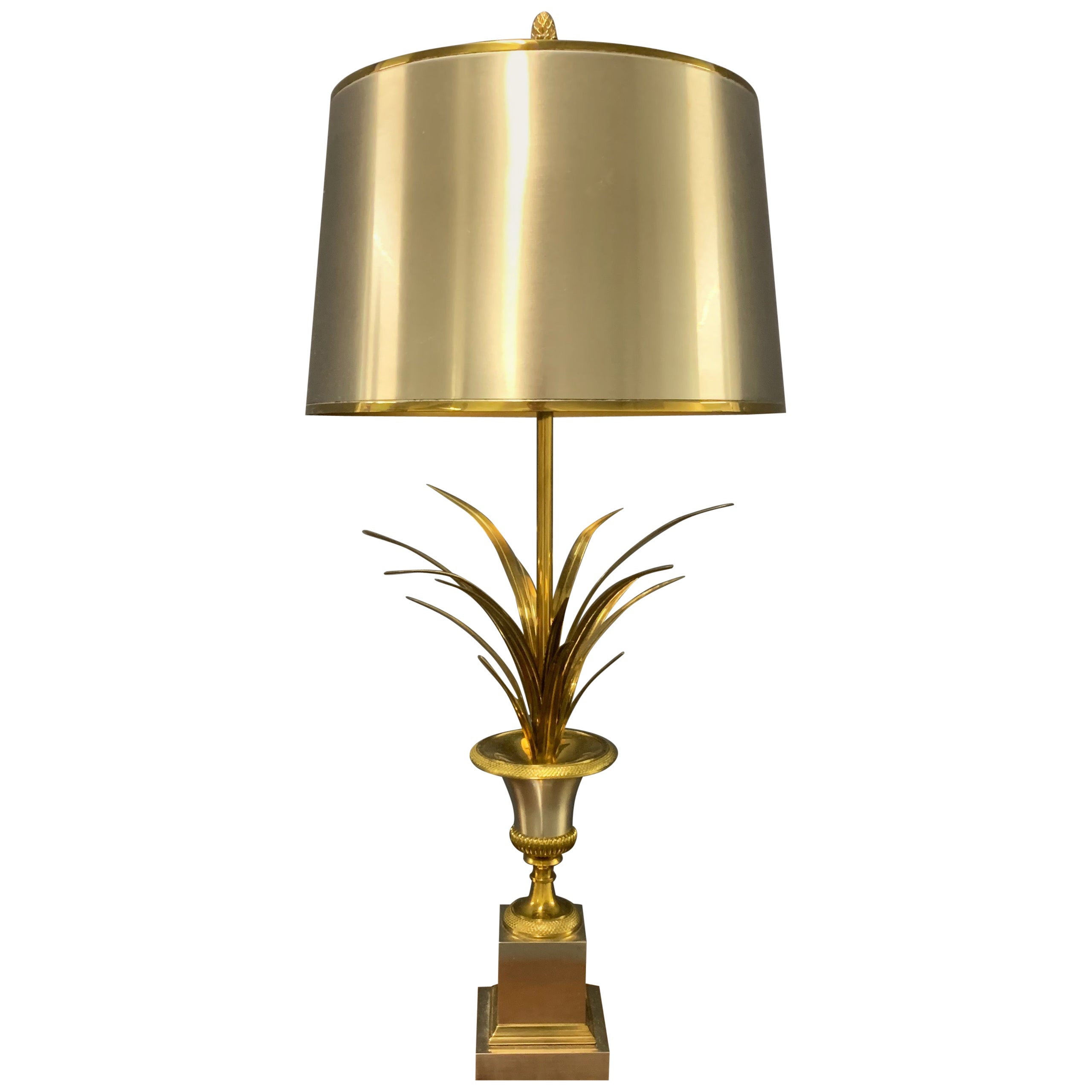 Signed Maison Charles Table Lamp