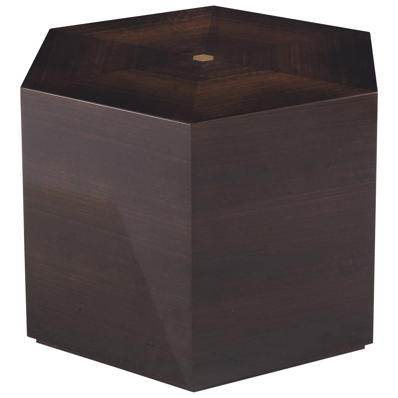 Black Hexagonal Coffee Table