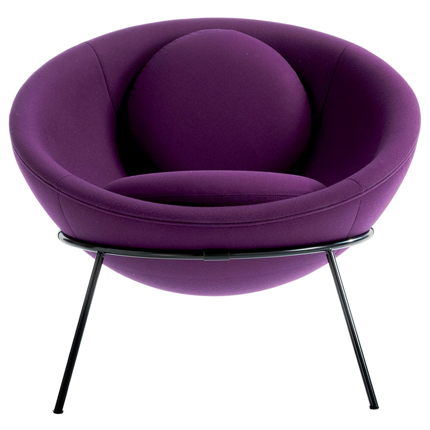 Bardi's Bowl Chair Purple