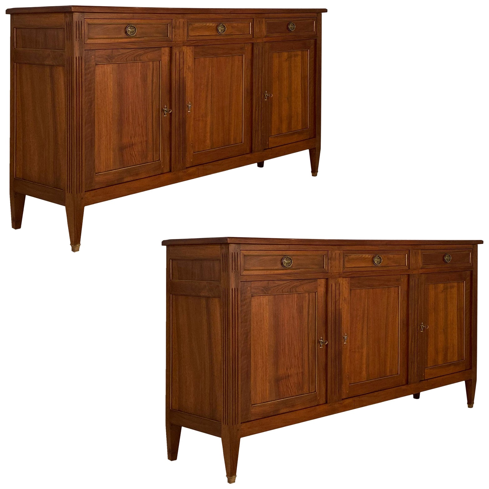 Pair of Antique French Directoire Buffets