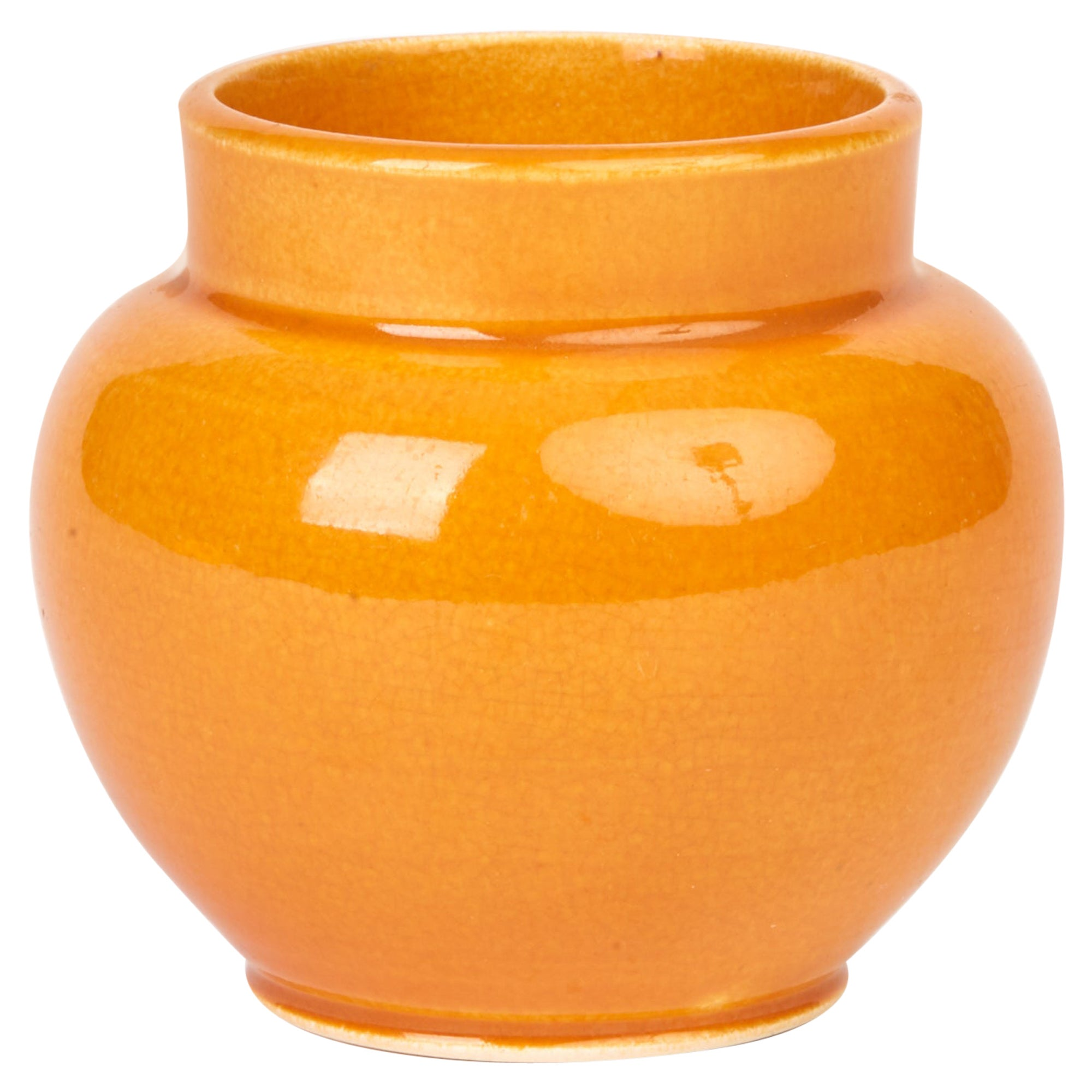 Samuel Lear Rare Arts & Crafts Miniature Art Pottery Vase, circa 1890