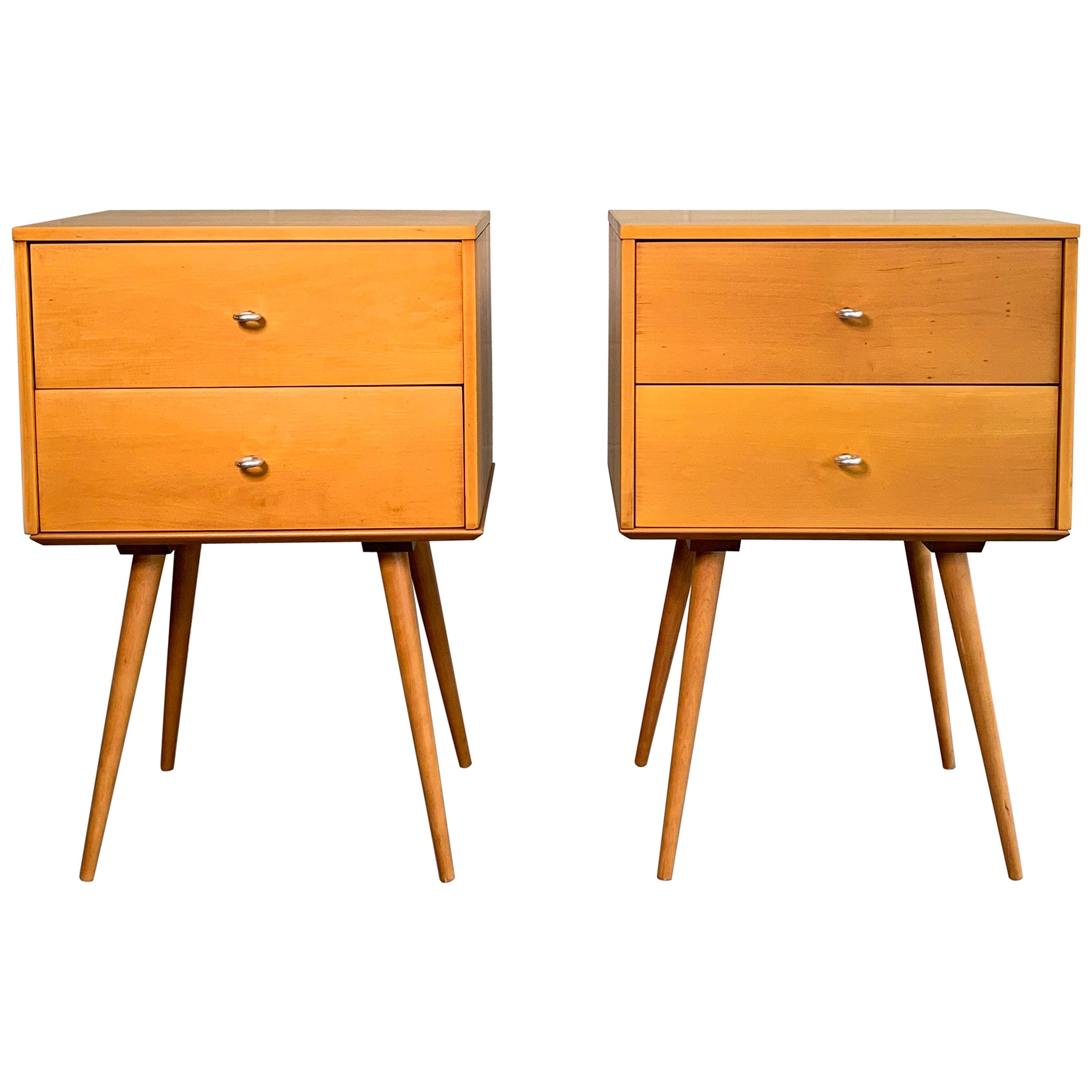 Paul McCobb Planner Group for Winchendon Blonde Dressers