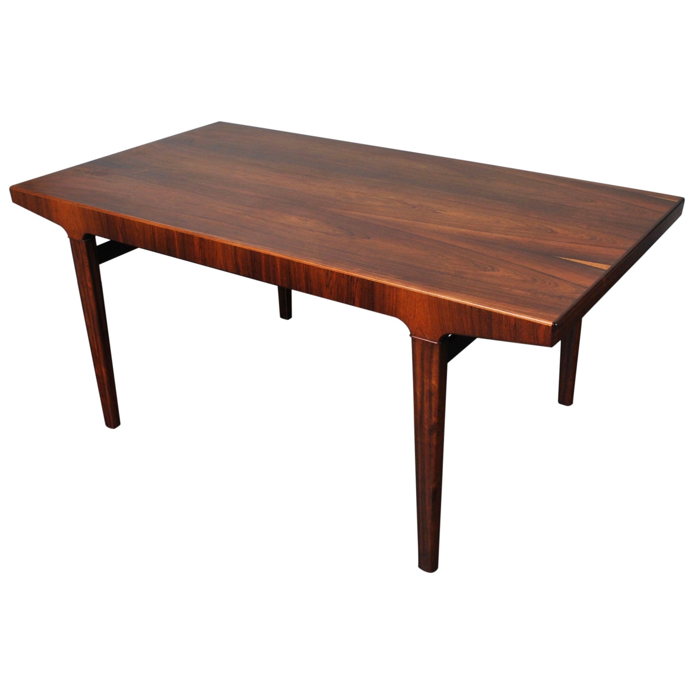 Large Rosewood Dining Table, L. Chr. Larsen & Son, Denmark.