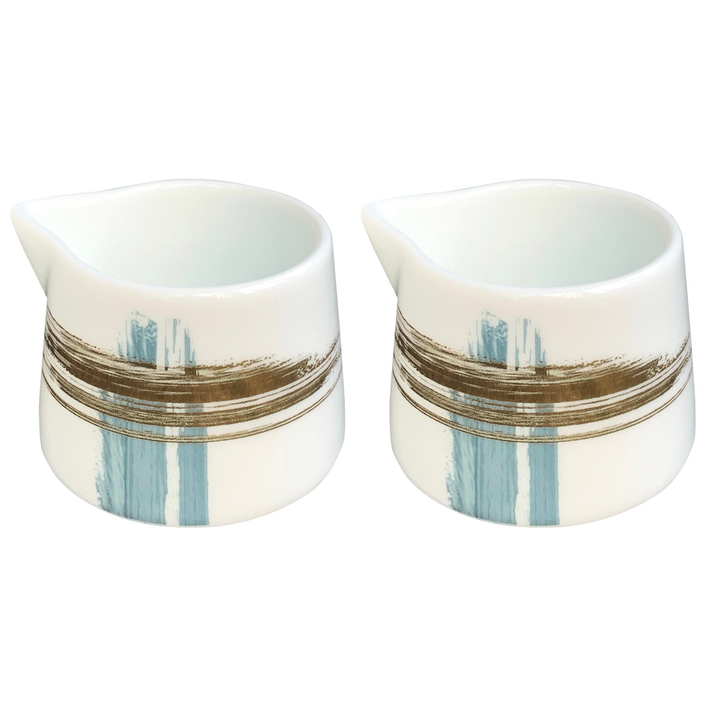 Set of 2 Creamer Artisan Brush André Fu Living Tableware New